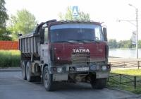 Самосвал Tatra T815S1 #В469ЕК147. Ленинградская обл., Всеволожский р-н, пос. Свердлово
