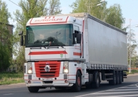 Седельный тягач Renault Magnum #AI 6905 CP. г. Псков, Ленинградское шоссе