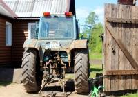 Трактор МТЗ-80* #5202 ЕА 60. Псковская обл., Псковский р-н, д. Серёдка