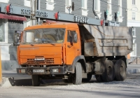 Самосвал КамАЗ-5511 #М 707 ЕА 67. г. Псков, Октябрьская пл.