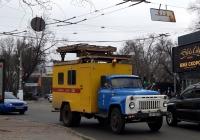Автомобиль ремонтной службы контактной сети АТ-70 на базе ГАЗ-52-01 #397-83 ОВ. Украина, Одесская обл., г. Одесса, ул. Канатная