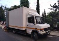 Фургон на шасси Merscedes-Benz 614D #У869ВТ193. Республика Крым, г. Ялта, п. Кореиз, Алупкинское шоссе