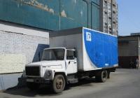 Фургон на шасси ГАЗ-3307 #В147РС53. г. Санкт-Петербург, пр. Солидарности