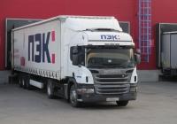 Седельный тягач Scania P360*#В628МО77. г. Санкт-Петербург, ул. Якорная
