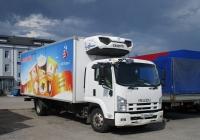 Рефрежираторный фургон на шасси Isuzu FSR #Р169МК58. г. Санкт-Петербург, ул. Якорная