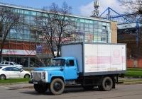 Фургон на базе автомобиля ГАЗ-53 #АХ 5967 СМ. Харьковская обл., г. Харьков, Плехановская ул.