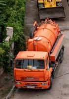 Илососная машина ТКМ-621 на шасси КАМАЗ-53605 #C166CC163. г. Самара, ул. Князя Григория Засекина