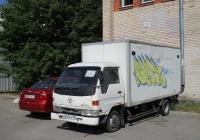 Фургон на шасси Toyota Dyna #Х251СХ190. г. Санкт-Петербург, ул. Димитрова