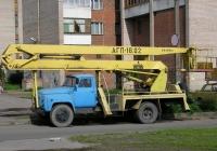 Подъемник АГП-18.02 на шасси ГАЗ-53*. г. Санкт-Петербург, ул. Белышева