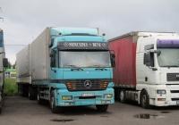Седельный тягач Mercedes-Benz Actros #M434EYN. Россия, Ленинградская обл., г. Тосно, Московское шоссе