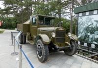 Грузовой автомобиль ЗиС-5. Республика Крым, г. Севастополь, мемориал на Сапун-горе