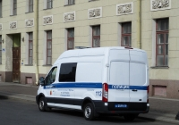 Полицейский фургон Ford Transit #А2519 78. г. Санкт-Петербург, Дворцовая площадь