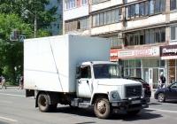 Фургон на шасси ГАЗ-3309 #Х513ТВ163. г. Самара, ул. Мичурина