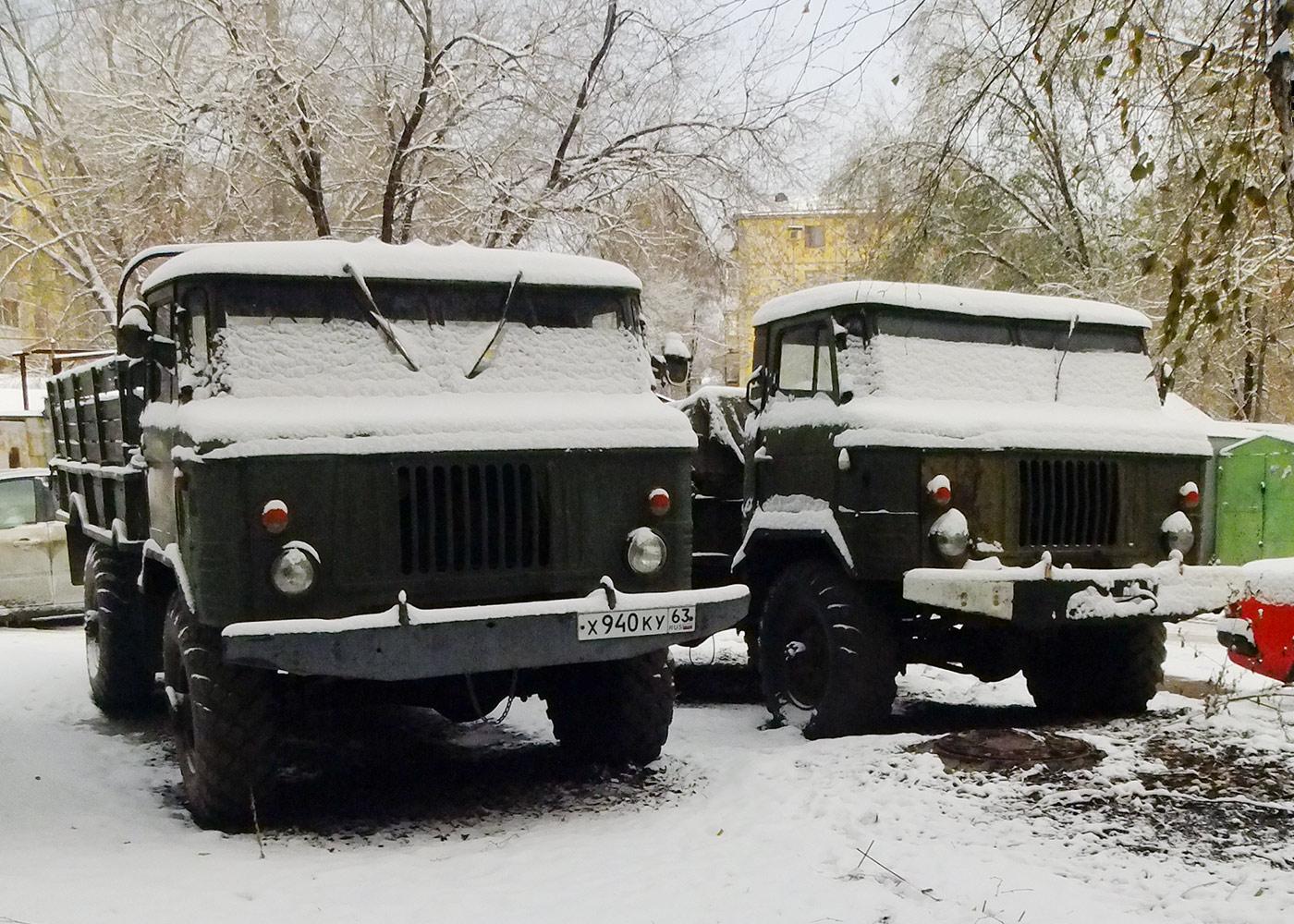 Грузовой автомобиль повышенной проходимости ГАЗ-66* #Х940КУ63 . г. Самара, ул. Партизанская